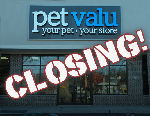 Pet Valu Closing